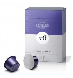 Cafes Richard Capsule Espresso Decofeinizate No 6