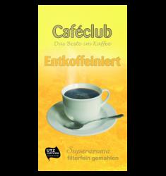 Cafeclub Entkoffeiniert 500G