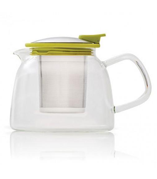 Ceainic de sticla Suki Green Teapot
