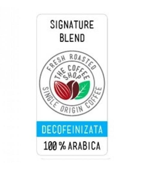 Cafea Proaspat Prajita The Coffee Shop 100% Arabica Decaf 1KG