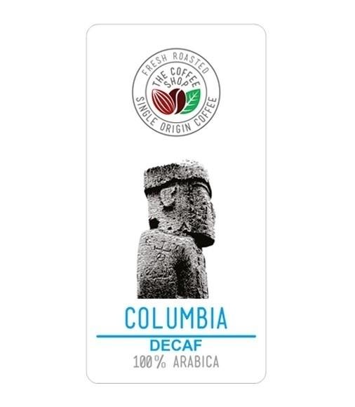Cafea Proaspat Prajita THE COFFEE SHOP Columbia Decaf 1KG
