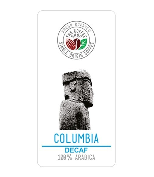 Cafea Proaspat Prajita THE COFFEE SHOP Columbia Decaf 250G