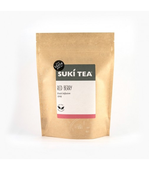 SUKI TEA INFUSION RED BERRY 250g