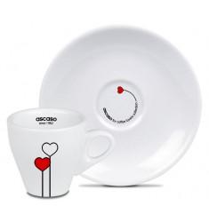 Ascaso Love - Cesti si Farfurioare Espresso
