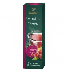 Capsule ceai bio, 10 capsule/cutie, Fruit Harmony, TCHIBO Cafissimo Teatime