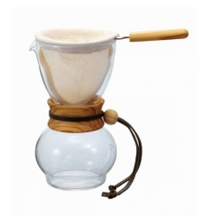 Hario Drip Pot 240ml Olive Wood