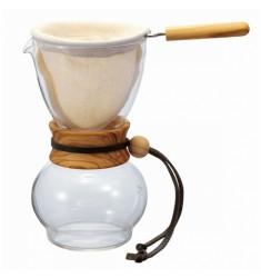 Hario Drip Pot 480ml Olive Wood