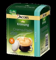 Jacobs Krönung Balance Pads (16 monodoze)