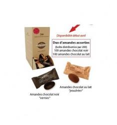Duo Chocolate Almonds Richard